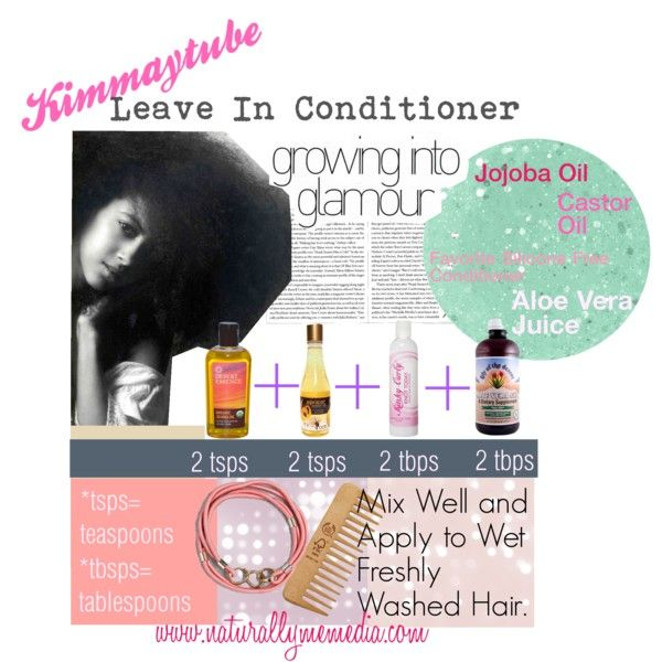 Homemade Leave In Moisturizer For Natural Black Hair