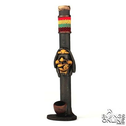 INCA POLY RESIN STANDING PIPE- BOB