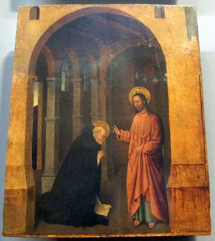 Colantonio. Colantonio, s. vincenzo ferrer e sue storie, 1460 ca., da s. pietro maggiore. Galleria Napoletana (Museo di Capodimonte).