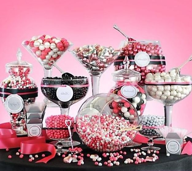 35 best images about candy bar ideas on pinterest pink candy bars sweet bar and party candy bars. Black Bedroom Furniture Sets. Home Design Ideas