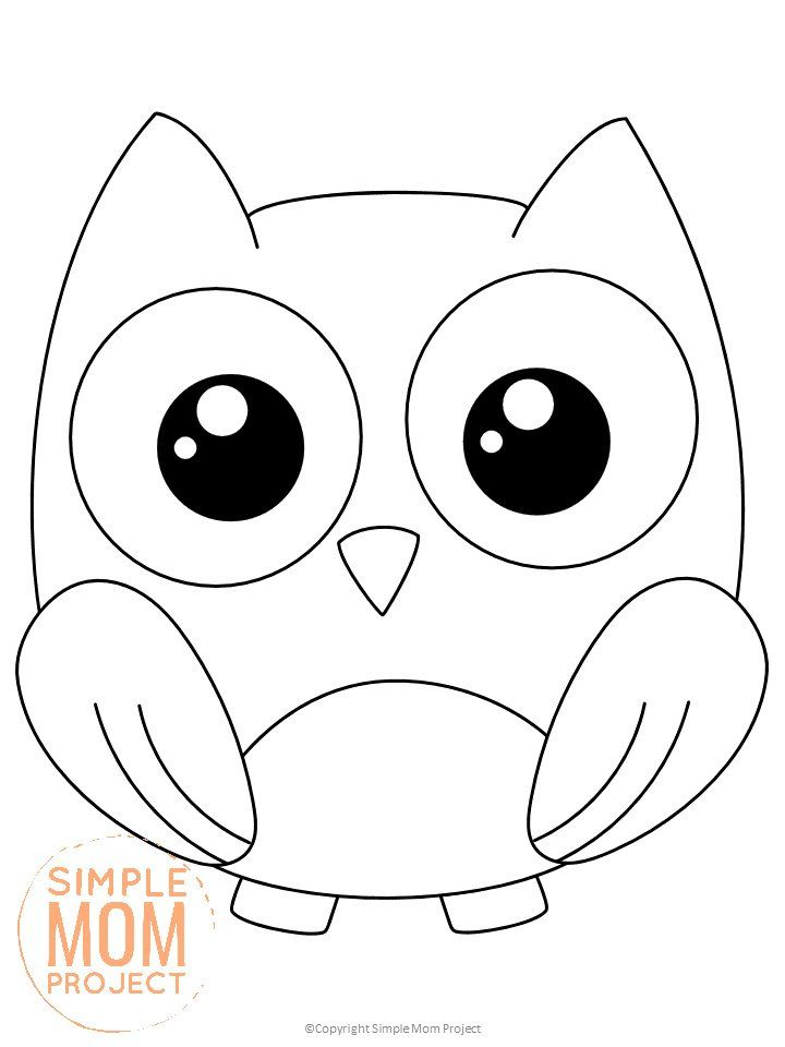 Looking To Add A Cute Forest Owl Coloring Page To Your Kids Forest Themed Crafts This Free Prin In 2020 Owl Coloring Pages Animal Coloring Books Animal Coloring Pages