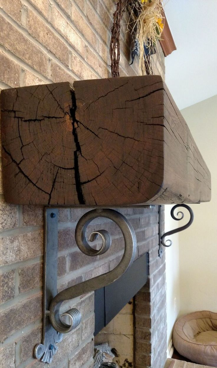 Ornamental iron panels - Decorative Wrought Iron Corbels For Mantel Shelves Counter Tops Granite And Other