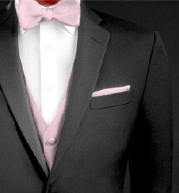 Use touches of color in every last detail - from ties to ...