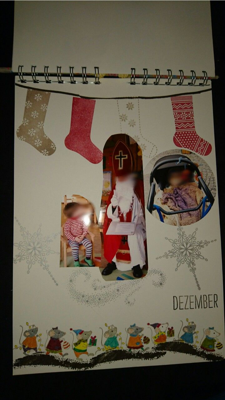 Kalender, Dezember, Stampin Up
