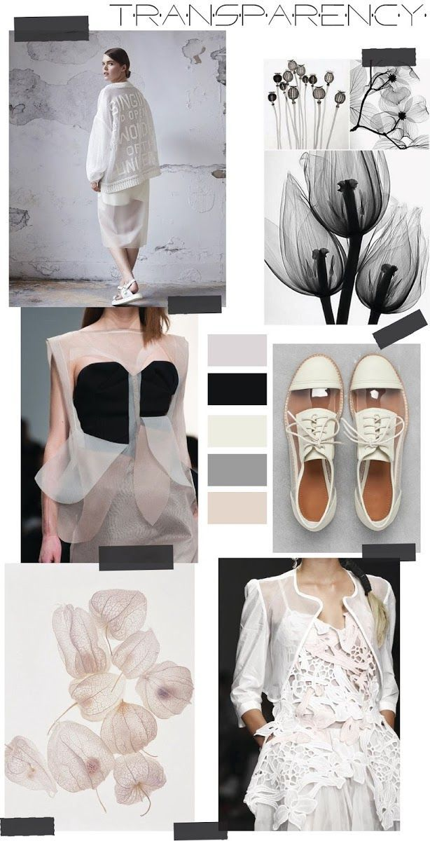 TRENDSPIRATION // TRANSPARENCY (FASHION VIGNETTE)