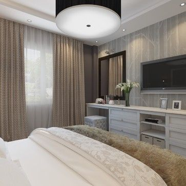 Bedroom Tv Design, Pictures, Remodel, Decor and Ideas - page 2