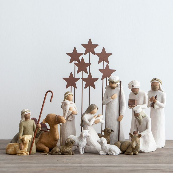 Awe and Wonder - Willow Tree Nativity Set