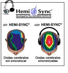 ... HEMI-SYNC® es una tecnología de SONIDO BINAURAL desarrollada en los años 80, que funciona con sencillez, enviando diferentes frecuencias de sonidos o tonos a cada oído, frecuencias binaurales, a través de auriculares estéreos.  Los CDS desarrollan estas frecuencias a través de composiciones musicales muy agradables de escuchar que equilibran los hemisferios cerebrales. INDICADO SI QUIERE MEJORAR LA CONCENTRACIÓN, APRENDIZAJE MÁS RÁPIDO, MEDITACIÓN, EXPANSIÓN DE CONCIENCIA.