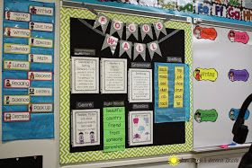 Sun, Sand & Second Grade: Focus Walls...and a Freebie! :)