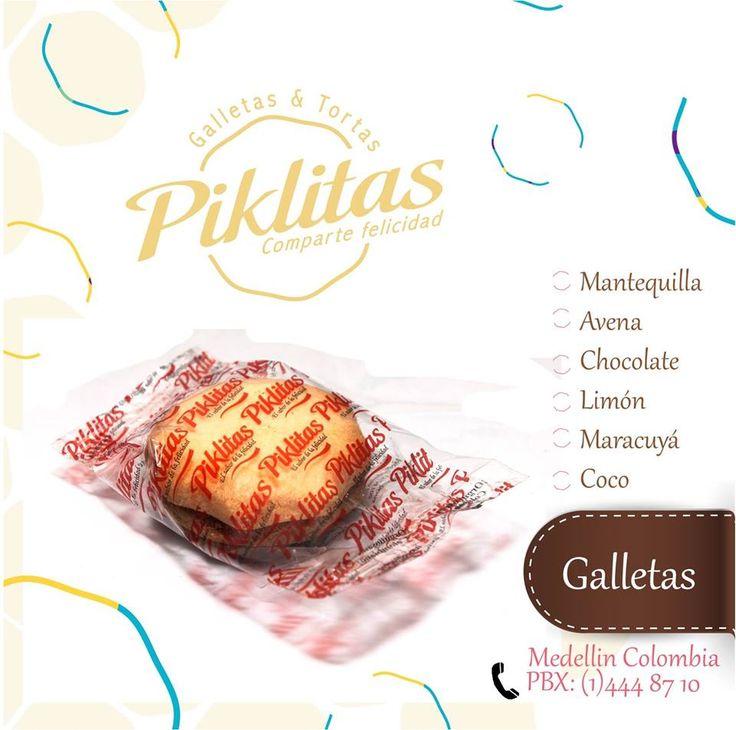 Las #galletas de #mantequilla #piklitas son simplemente la expresión de la #felicidad en forma de Galletas. puedes encontrarnos en : Piklitas #Villanueva: Calle 58 No 49 - 56 Telefono: 444 8710  Piklitas #SanJose: Calle 49 No 46 - 17  Telefono: 444 8710  Piklitas #Envigado: Carrera 43A No 31 Sur 21 San Marcos Telefono: 444 8710
