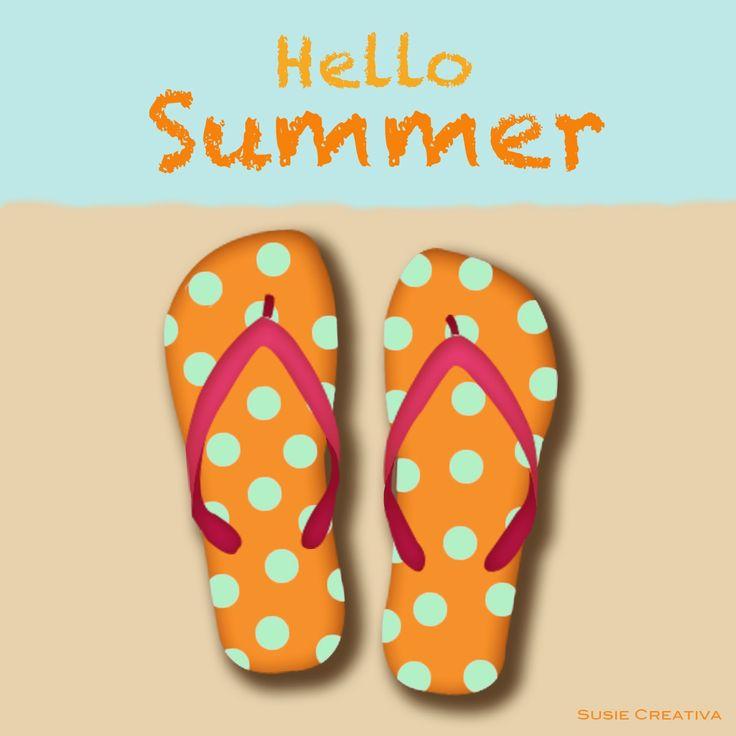 Hello Summer by Susie Creativa