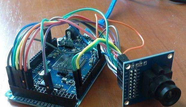 Visual Capturing with OV7670 on Arduino - Arduino Project <b>Hub</b> ...