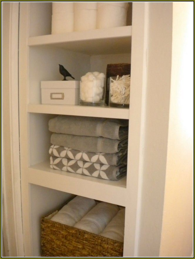 Save Bathroom Storage Space With Bathroom Linen Cabinets