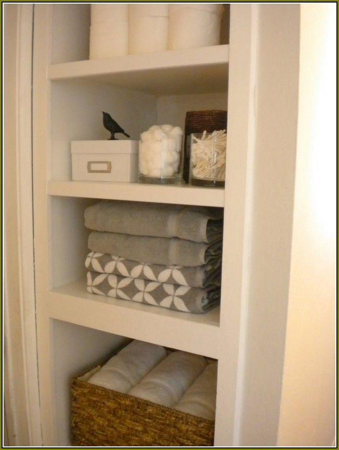 Save Bathroom Storage Space With Bathroom Linen Cabinets Hallway