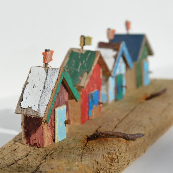 Four Driftwood Beach Huts - CoastalHome.co.uk: Driftwood