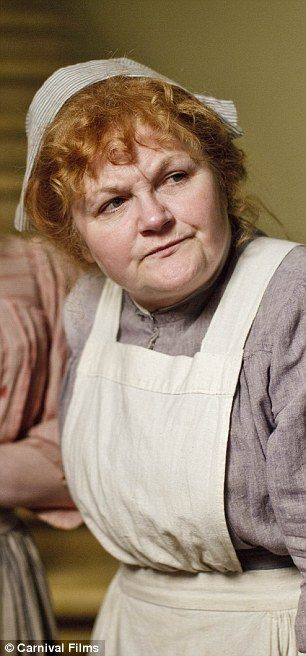 Lesley Nicol as cook Beryl Patmore in Downton Abbey.  Couldn't resist including this fabulous actress from Downton Abbey! Wonder what Beryl Cook would have done with this pic?