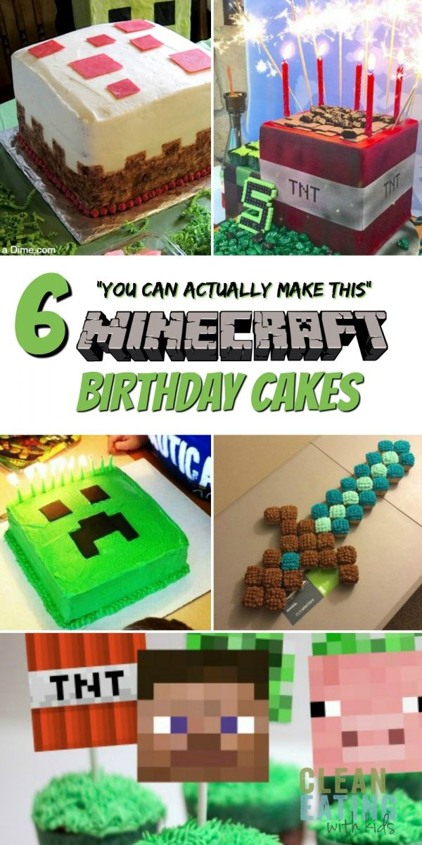 Step by Step instructions on how to host a cheap Minecraft Birthday Party that y…