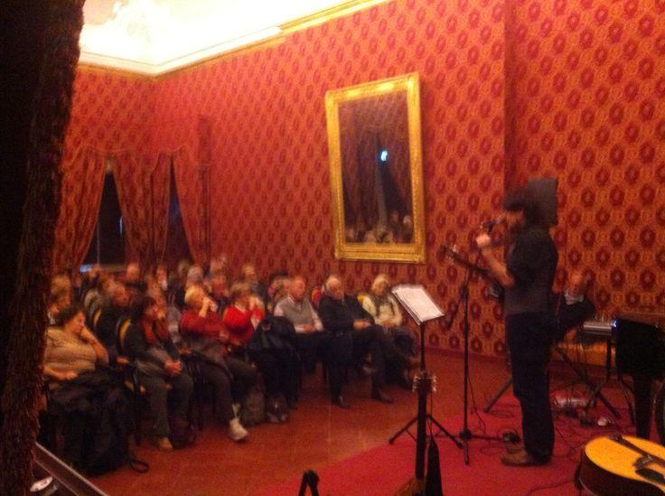 Live al Museo Nazionale Giuseppe Verdi.
