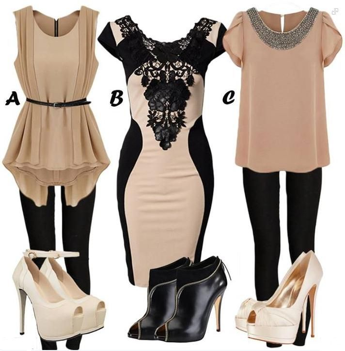 Love these semi formal outfits. Great for work, fancy dinners, special occasions, etc.