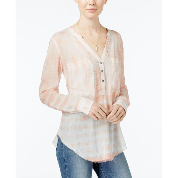 Now 40% off, $48 - Shop this and similar William Rast blouses - Rock this tie-dyed blouse from William Rast with all of your favorite skinny jeans.
