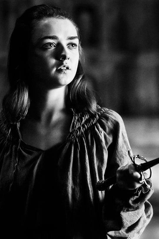 """A girl is Arya Stark of Winterfell and I'm going home."" (x)"
