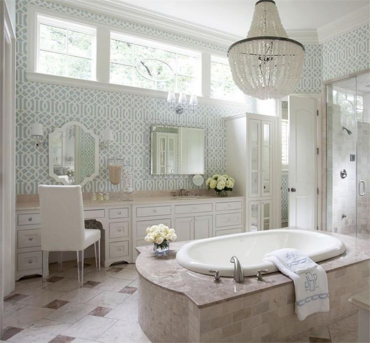 Stunning Bathroom Chandeliers   -  A bathroom is an important part of the house; it's a room that can have different functions depending on the cultural context. There are several choic... Check more at http://www.xtend-studio.com/2502-stunning-bathroom-chandeliers/