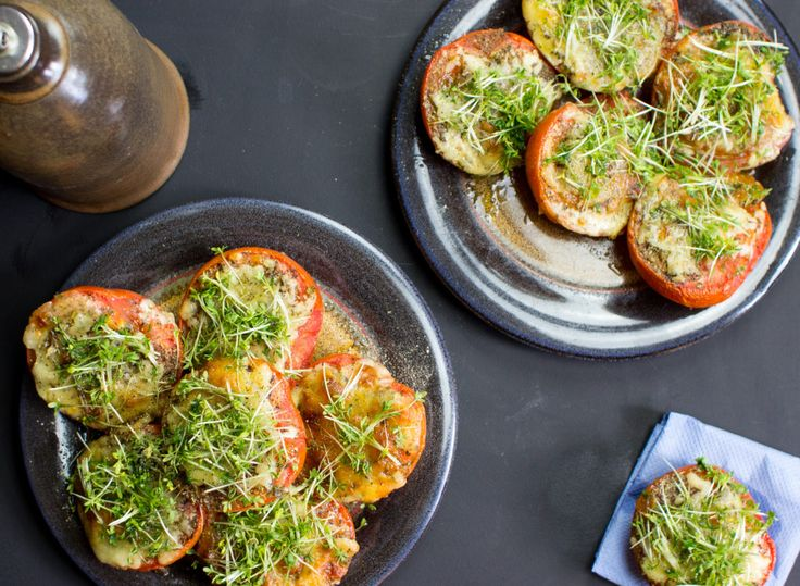 Grilled Tomatoes with Apricot Jam (7 of 8)