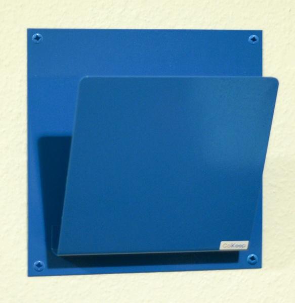 ColKeep : ColKeep Magasinholder Blå Enkelt bladholder fra ColVitae, her i blå