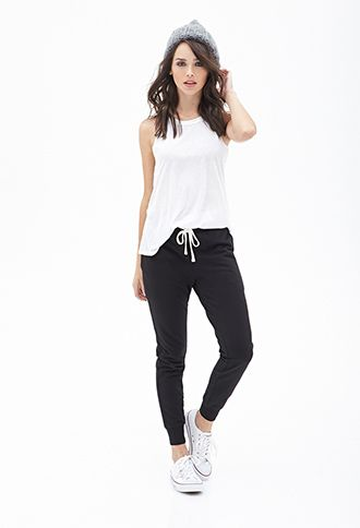Drawstring Pocket Sweatpants | FOREVER21 - 2000102470 - These look like they could be my next favorite pants!