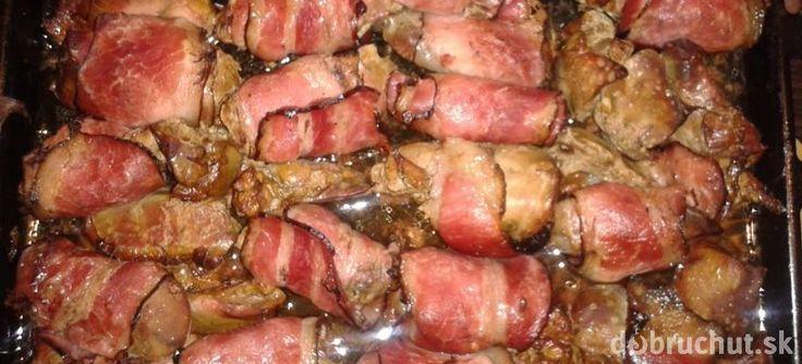 Kuracie pečienky v slanine