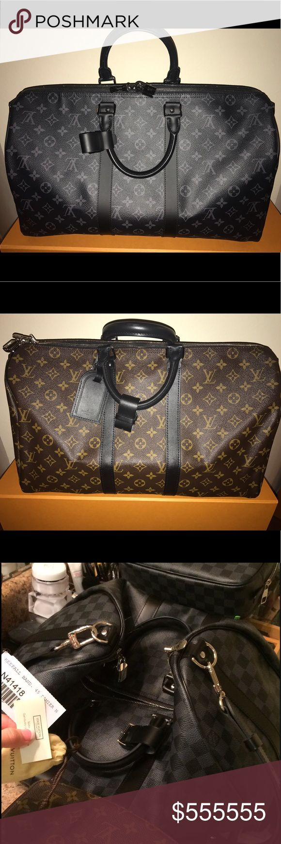 Travel lv luggage sale Just a couple lv Tavel pieces. 1000% Authentic of course!! Mix & match bundle to save more feel free to make a REASONABLE OFFER. SERIOUS BUYERS Welcome. Happy to post lots more photos if your Very interested. Everything is listed on Tradsey to for better pics & more info. Check it out Louis Vuitton Bags Travel Bags