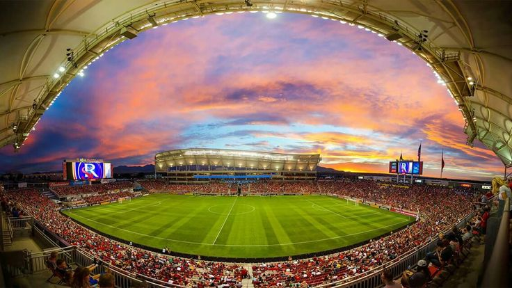 RSL soccer and sunsets