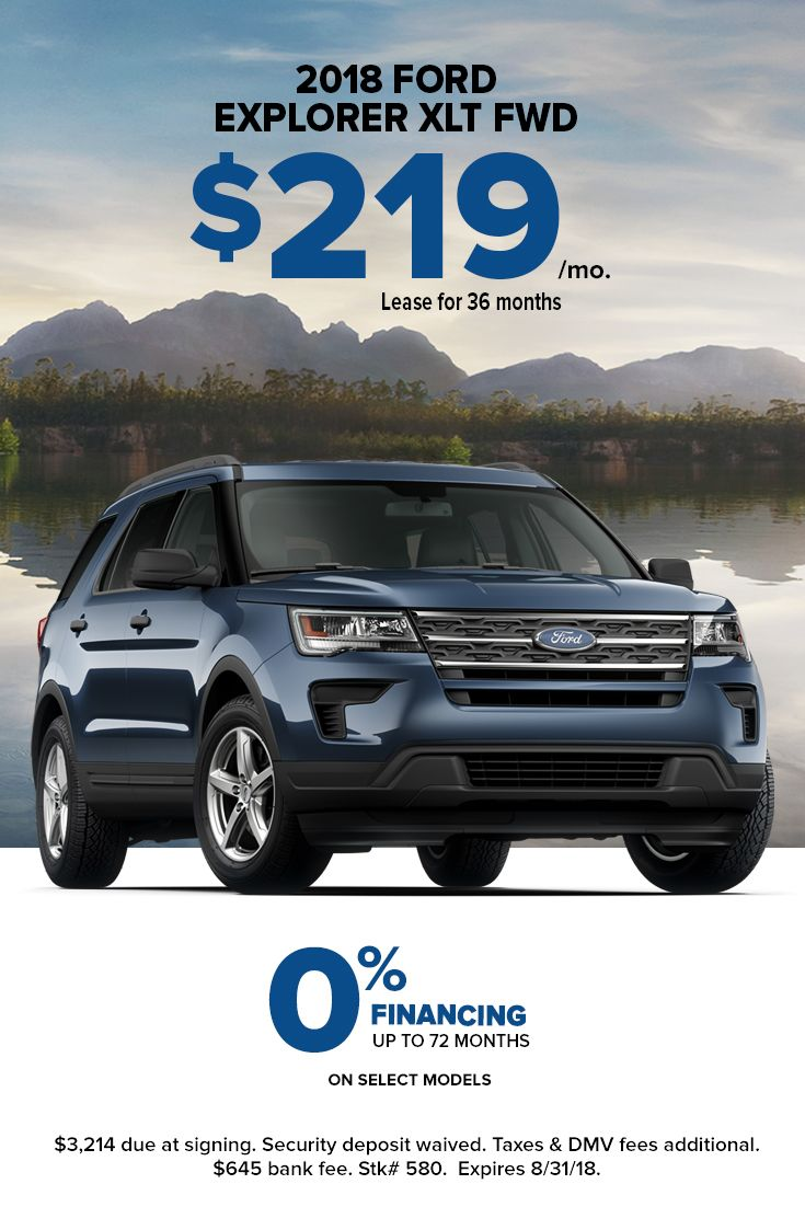 Stop In To Hassett Ford And Drive Off In A New Ford Explorer Xlt