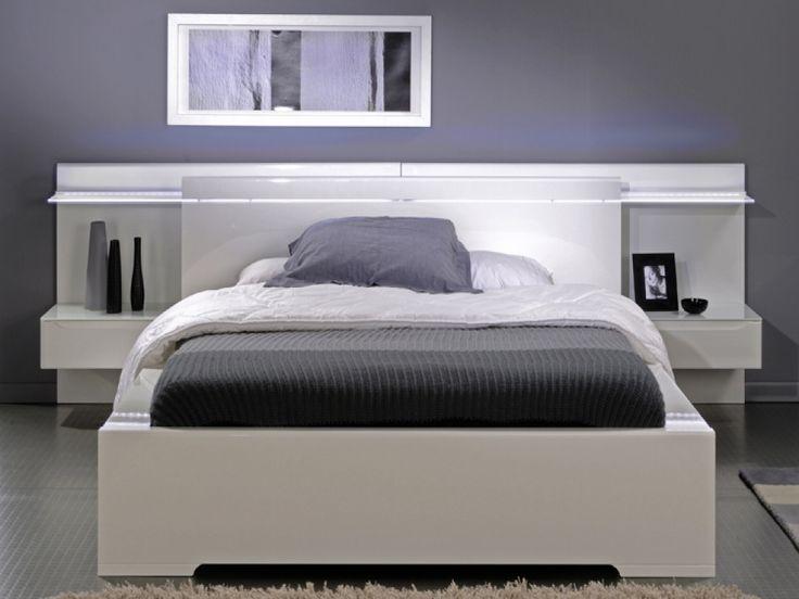 46 beste afbeeldingen over project slaapkamer g c op pinterest verfkleuren kingsize - Romantische witte bed ...