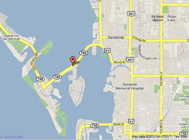 Bird Key Sarasota Florida Location Map Sarasota
