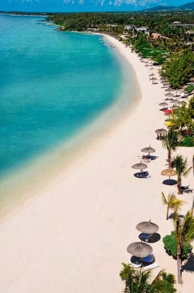 Beaches Around The World -Long Beach, Mauritius
