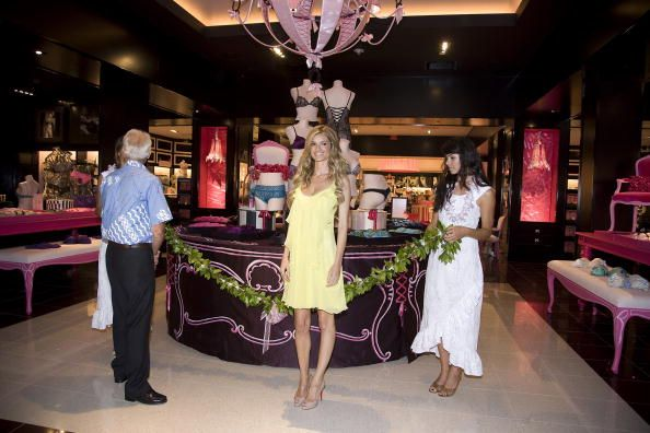 Marisa Miller celebrates the grand opening of Hawaii's first ever Victoria's Secret store at Ala Moana Center on October 1 2009 in Honolulu Hawaii