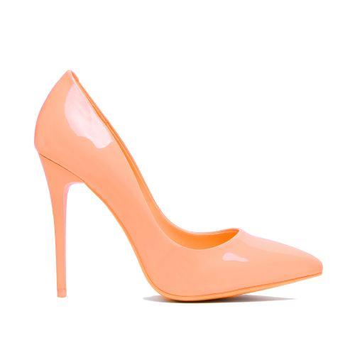 Dámské lodičky Marilyn 396 oranžové - Svět shopaholiků