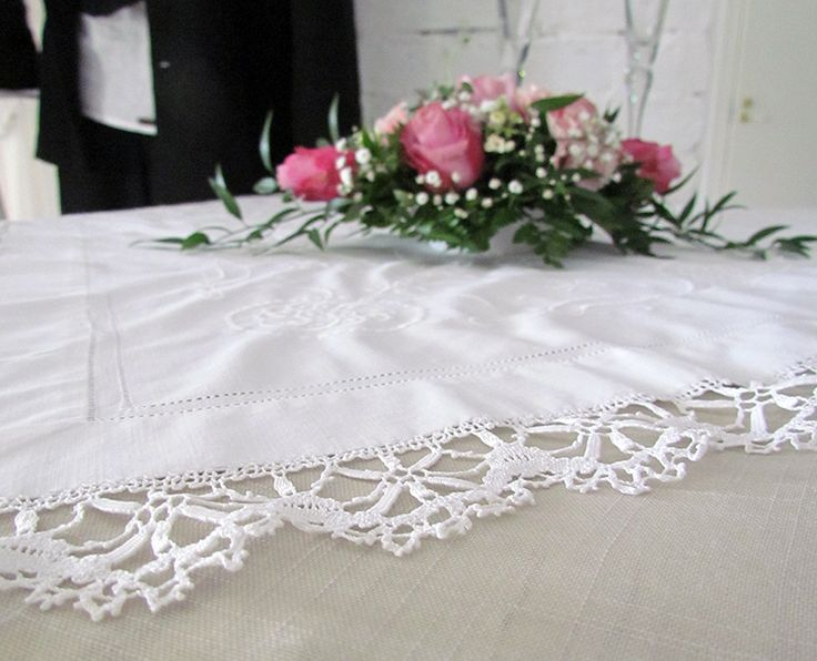 Very typical Cluny lace