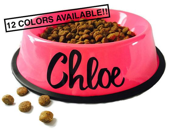 Personalized Dog Bowl - Personalized Pet Bowl - Custom Dog Bowls - Dog Dish - Personalize Dog Bowl - Dog Bowls - Dog Bowl with Name