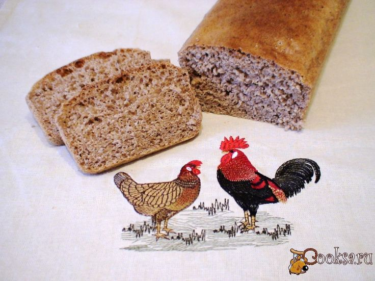 Цельнозерновой хлеб с отрубями
