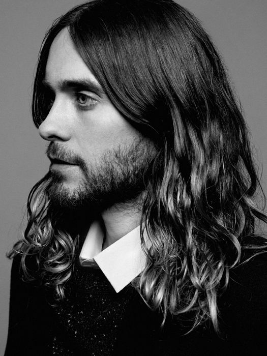 Would it be weird to take a picture of Jared Leto's hair in to the salon next time I go? Give me the Jared?