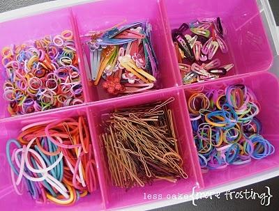 hair stuff organized