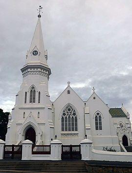 Malmesbury, Wes-Kaap - Die NG gemeente Swartland se geskiedkundige kerkgebou.