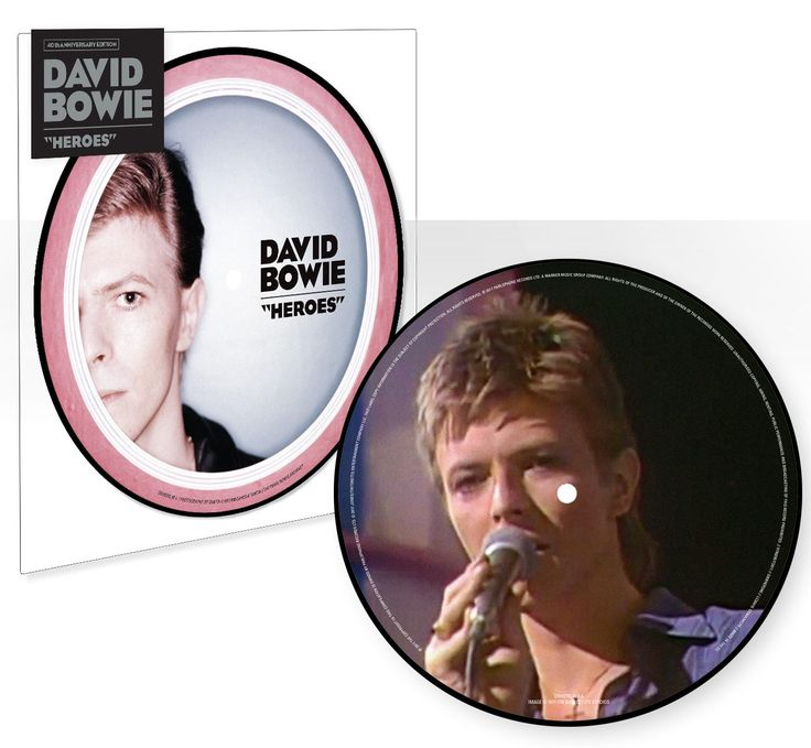Parlophone continue their David Bowie 40th anniversary seven-inch picture discs,with this rather striking new edition