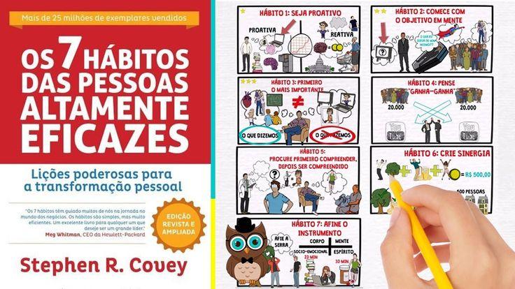 OS 7 HÁBITOS DAS PESSOAS ALTAMENTE EFICAZES | STEPHEN COVEY | RESUMO ANI...