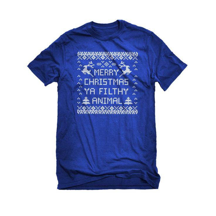 Merry Christmas Ya Filthy Animal Mens Unisex T-shirt
