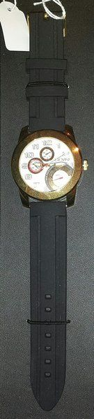 Men's Fashion Watch with Black Armband
