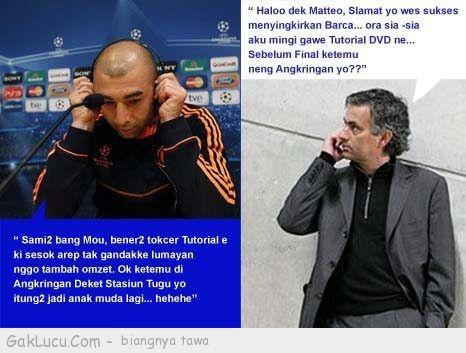 Lelucon berjudul Matteo dan Mourinho yang dibuat oleh Tpao di www.GakLucu.com. Temukan juga lelucon lain yang mirip.