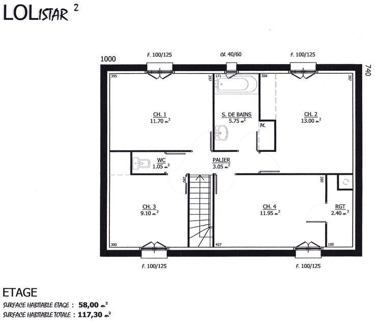 Maison - Lolistar - Maison Lol - 123500 euros - 117 m2 Faire - faire ses plan de maison gratuit